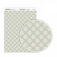 Бумага дизайнерская односторонняя Моменты нежности 7, 21х29,7 см, глянцевый, 250 г / м2, ROSA TALENT