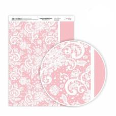 Бумага дизайнерская односторонняя Love story 1, 21х29,7 см, глянцевый, 250 г / м2, ROSA TALENT