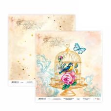 Двусторонняя бумага «Floral Poem» 6, 30*30 см от Rosa Talent