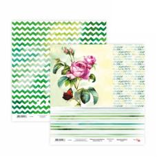 Двусторонняя бумага «Floral Poem» 15, 30*30 см от Rosa Talent