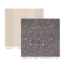 Бумага для скрапбукинга New Year's magic 7, двосторонняя, 30,48х30,48 см, 200г/м2, Rosa Talent