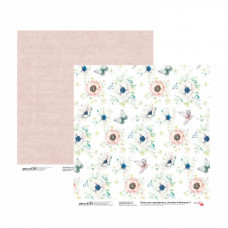 Двусторонняя бумага «Emotion & Romance» 1, 30*30 см от Rosa Talent
