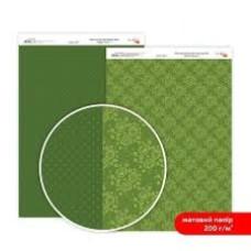 Бумага дизайнерская двусторонняя матовая, Магия роз 7, 21х29,7 см, 200 г/м2, Rosa Talent