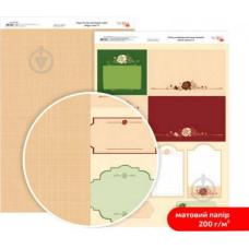 Бумага дизайнерская двусторонняя матовая, Магия роз 8, 21х29,7 см, 200 г/м2, Rosa Talent
