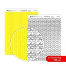 Бумага дизайнерская двусторонняя матовая, Be in color 5, 21х29,7см, 200г/м2, Rosa Talent