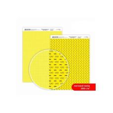 Бумага дизайнерская двусторонняя матовая, Color style 3, 21х29,7 см, 200 г/м2, Rosa Talent