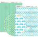 Бумага дизайнерская двусторонняя матовая, Color style 5, 21х29,7 см, 200 г/м2, Rosa Talent