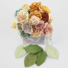 Набор розочек Charme Rose Songbird от Prima, 30 шт