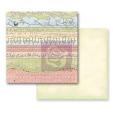 Двусторонняя бумаги Green Fields 30х30 см от Prima