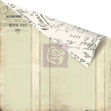 Двусторонняя бумага Printery Love Ledger 30х30 см от Prima