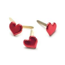 Брадсы в форме сердечек от Creative Impressions, 50 шт