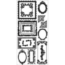 Натирки для скрапбукинга Frames от Kaisercraft