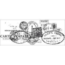 Акриловый штамп Postmarks от Kaisercraft, 13х5 см