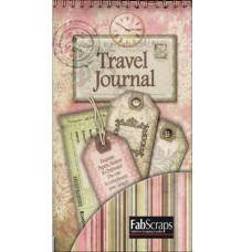 Набор для журналинга Timeless Travel Journal Tags 12 страниц, размер 20х10см от Fabscraps