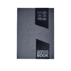 Блокнот для акварели, Travelbook А5, 160г / м2, 80л, Smiltainis
