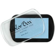 Пигментные чернила для штампинга Colorbox Baby Blue от Clear Snap