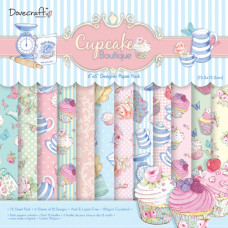 Набор бумаги Cupcake Boutique 15x15 24 листа от Dovecraft