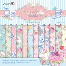 Набор бумаги Cupcake Boutique 20x20 см 12 листов от Dovecraft