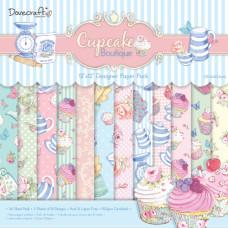 Набор бумаги Cupcake Boutique 30x30 см 12 листов от Dovecraft