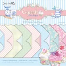 Набор бумаги Cupcake Boutique 30x30 см 8 листов от Dovecraft