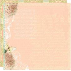 Двусторонняя бумага для скрапбукинга Pure Grace 30х30 см от Webster's Pages