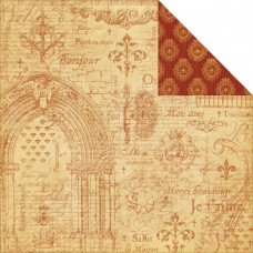 Двусторонняя бумага Rendezvous 30х30 см от Graphic 45