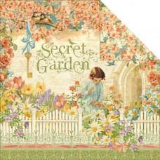 Двусторонняя бумага Secret Garden 30х30 см от Graphic 45