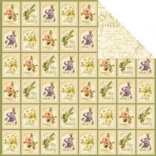 Двусторонняя бумага Seed Fairy 30х30 см от Graphic 45