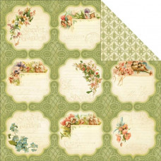 Двусторонняя бумага Meadow Lark 30х30 см от Graphic 45