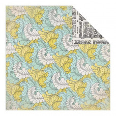 Двусторонняя бумага Flowing Flourish 30х30 см от Authentique Paper