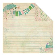Двусторонняя бумага Spring 1 30х30 см от Authentique Paper