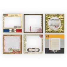 Набор прозрачных карточек для журналинга Transparencies Vintage от компании 7gypsies