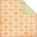 Двусторонняя бумага для скрапбукинга Orange Pop 30х30 см от Kaisercraft