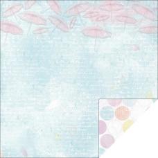 Двусторонняя бумага для скрапбукинга Blueberry 30х30 см от Kaisercraft