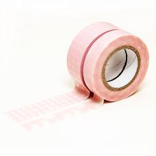 Бумажный скотч Pink от компании Dovecraft, 16 м