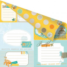 Двусторонняя бумага Notecards 30x30 см от Prima