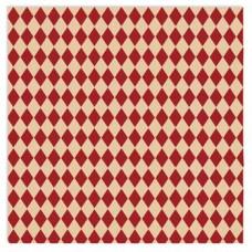 Бархатная скрапбумага Savannah Flocked Paper:  Harlequin 30х30 см от 7gypsies