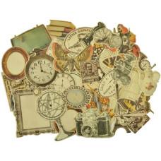 Набор высечек Timeless Collection от Kaisercraft, 50 шт