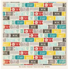 Двусторонняя бумага Celebrate Tickets 30х30 см от My Mind's Eye