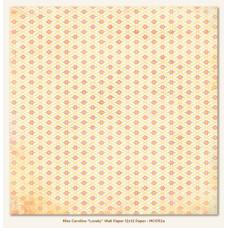 Двусторонняя бумага Lovely Wall Paper 30х30 см от My Mind's Eye