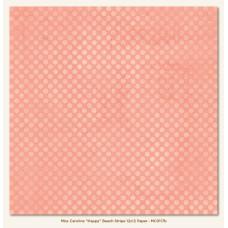 Двусторонняя бумага Happy Beach Stripe 30х30 см от My Mind's Eye