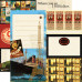 Двусторонняя бумага All Aboard 30х30 см от компании Echo Park