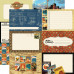 Двусторонняя бумага Blueprint 30х30 см от компании Echo Park