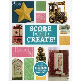 Книга по использованию доски для биговки Score, Fold, Create от Scor-Pal