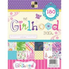 Набор бумаги Girlhood 28х21 см 60 листов от DCWV