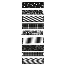 Акриловый штамп Decorative Tape Pieces 13х5 см от Kaisercraft
