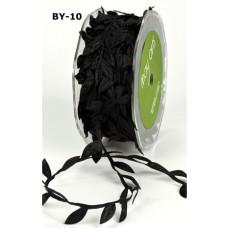 """Лента """"Листья"""" от May Arts, цвет черный, 90 см"""
