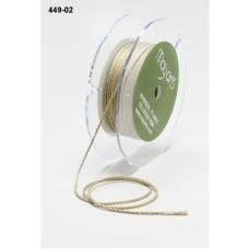 Шнур льняного цвета от компании May Arts, 90 см
