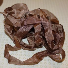 Шебби-лента Log Brown от компании Hug Snug, 14 мм, 90 см