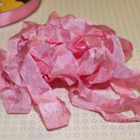 Шебби-лента Siam Pink от компании Hug Snug, 14 мм, 90 см